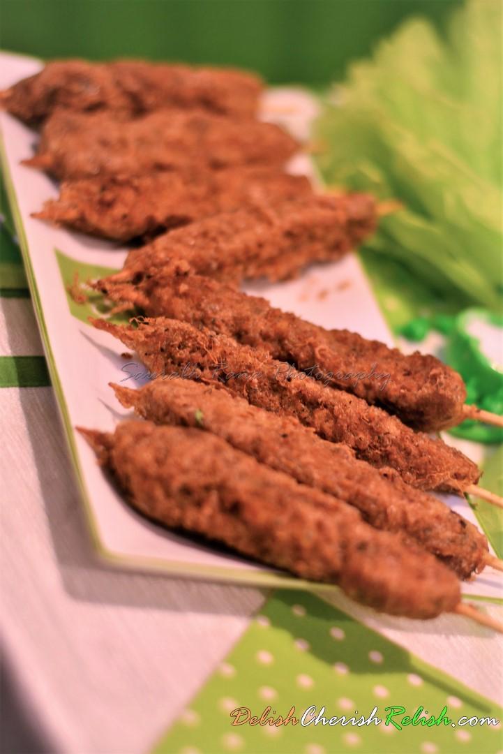 Murgh Salli Kebab!